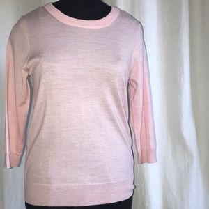 J.Crew Pink Wool Sweater
